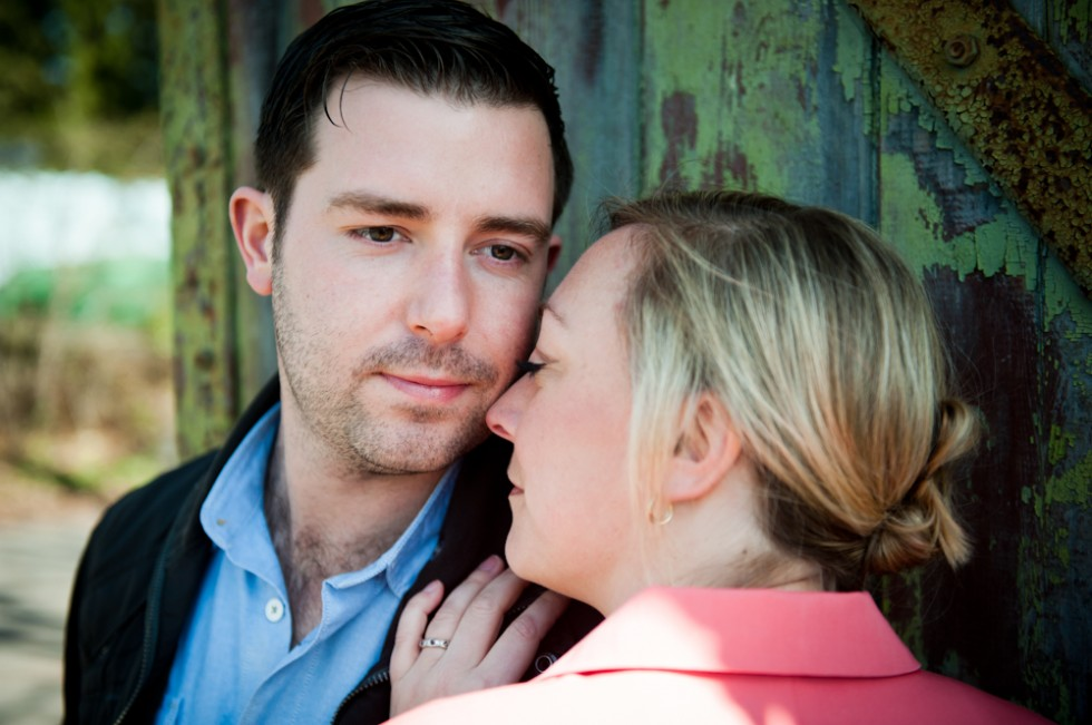 Mark & Becky's Hampshire pre-wedding photo shoot