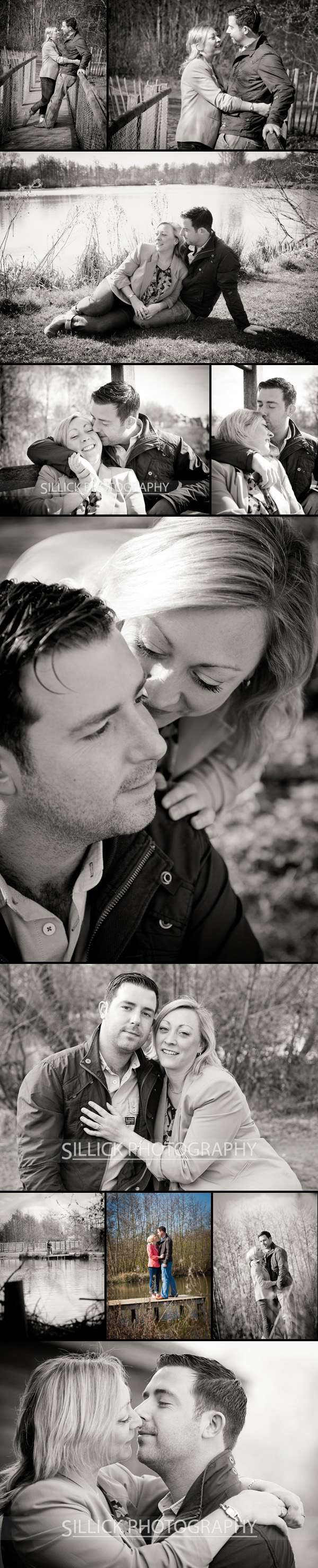 Lakeside Counrty park pre-wedding shoot - Sillick Photography