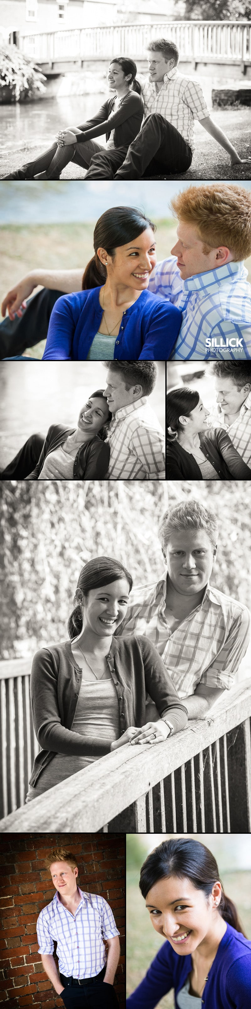 Winchester Pre-wedding photoshoot - Sillick Photography