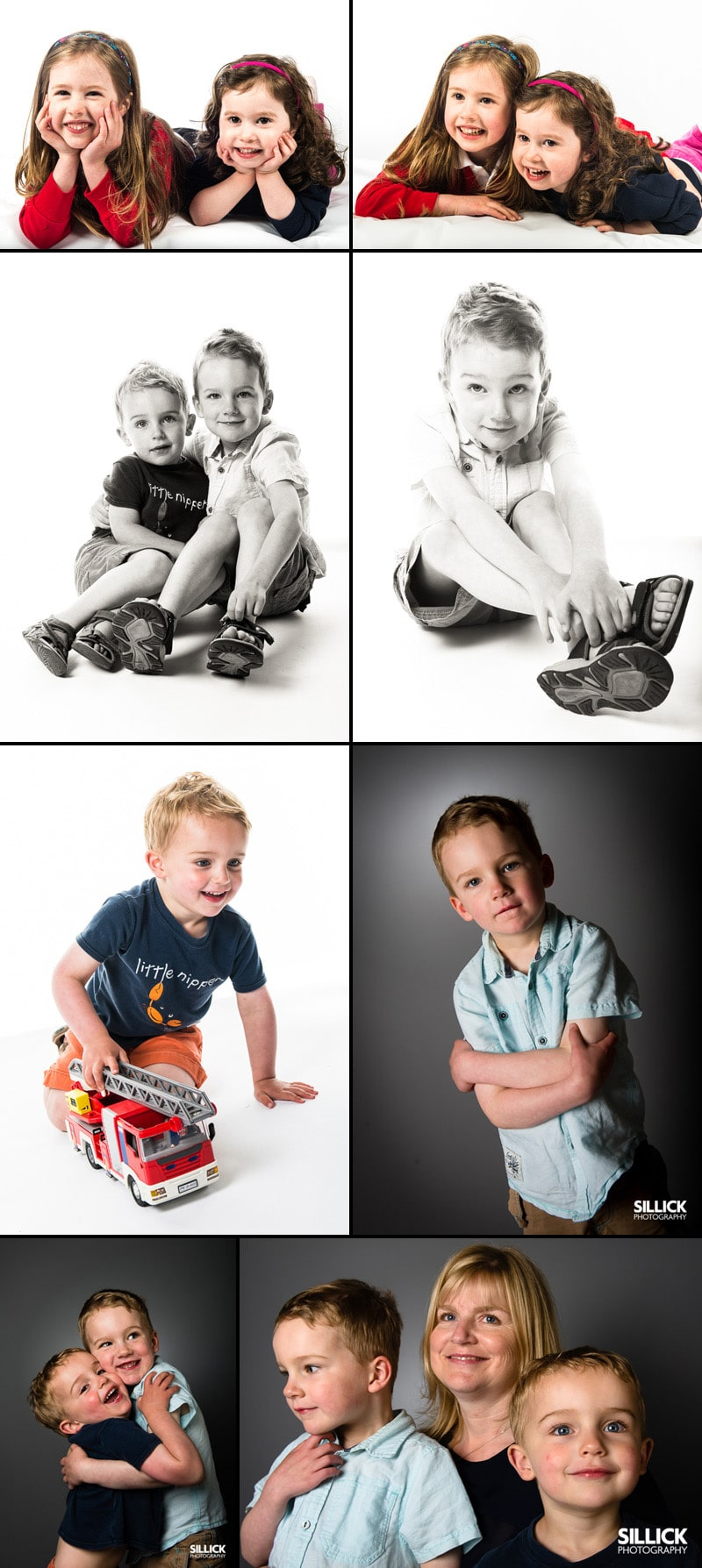Sillick Photography studio portraits - New Milton Photographer - Hampshire photographer