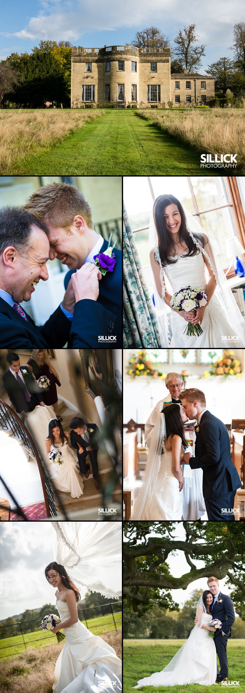 CJ & Dan - Hill Place - Sillick Photography. Hampshire wedding photographer