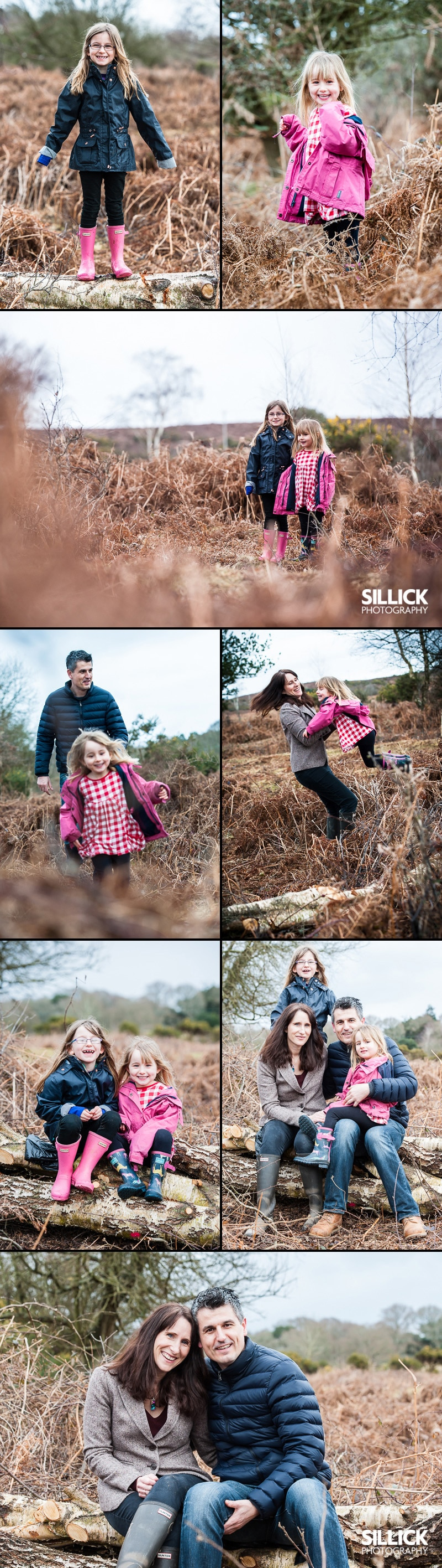 New Forest Engagement photography - sillick photography