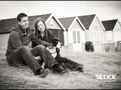 Kayley & Steve's Hengistbury portrait session