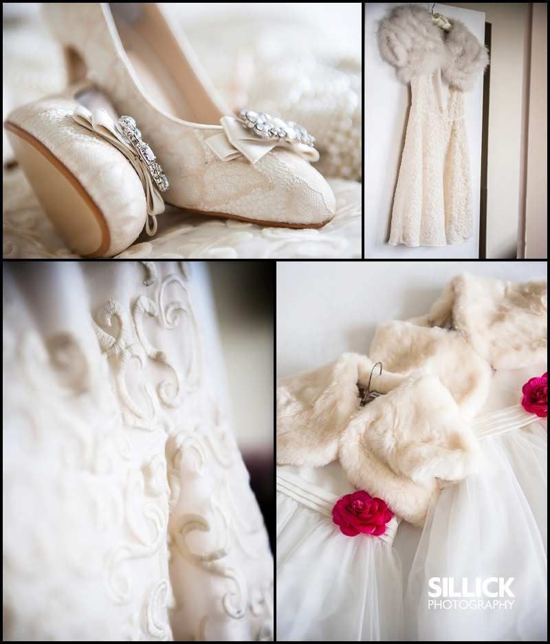 Hampshire wedding - wedding dress - Sillick Photography
