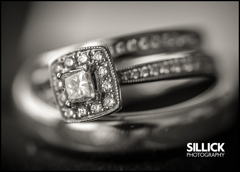 Hampshire wedding - wedding rings - Sillick Photography
