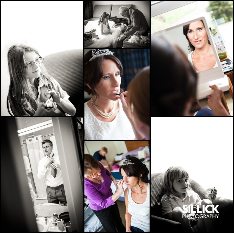 Hampshire wedding - Bride getting ready - Sillick Photography