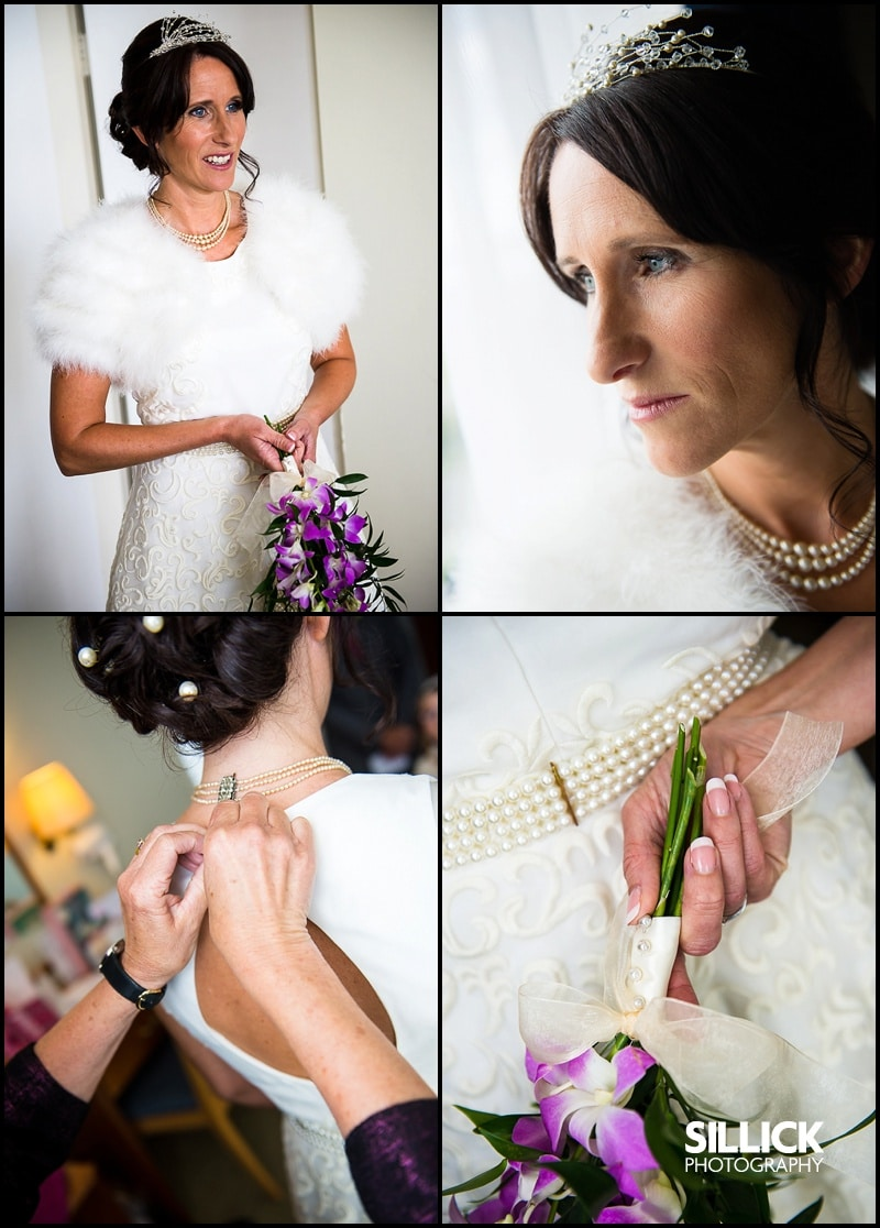 Hampshire wedding - getting ready - Sillick Photography
