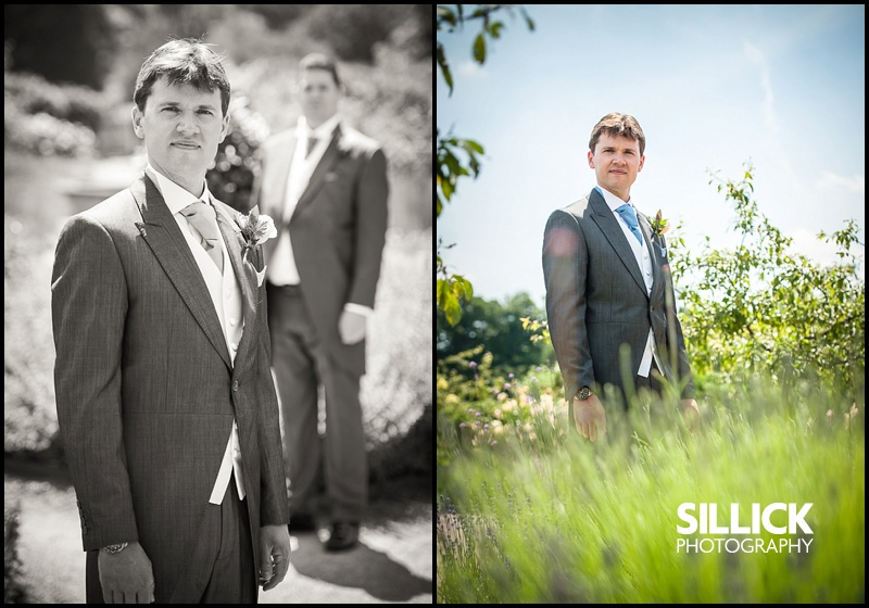 Bride Groom at the Walled Gardens, Cowdray, Midhurst, West Sussex