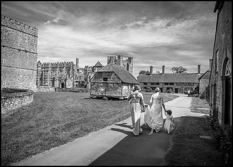 Bride at the Walled Garden, Cowdray, Midhurst, West Sussex - Sillick Photography