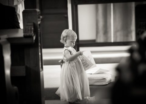 Baby at wedding in Charterhouse School, Surrey - Hampshire, Dorset and Surrey wedding photographer - Sillick Photography