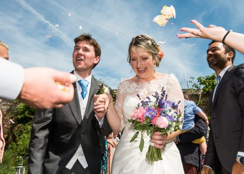 Beautiful wedding photography at the Walled Gardens, Cowdray, Surrey - Sillick Photography