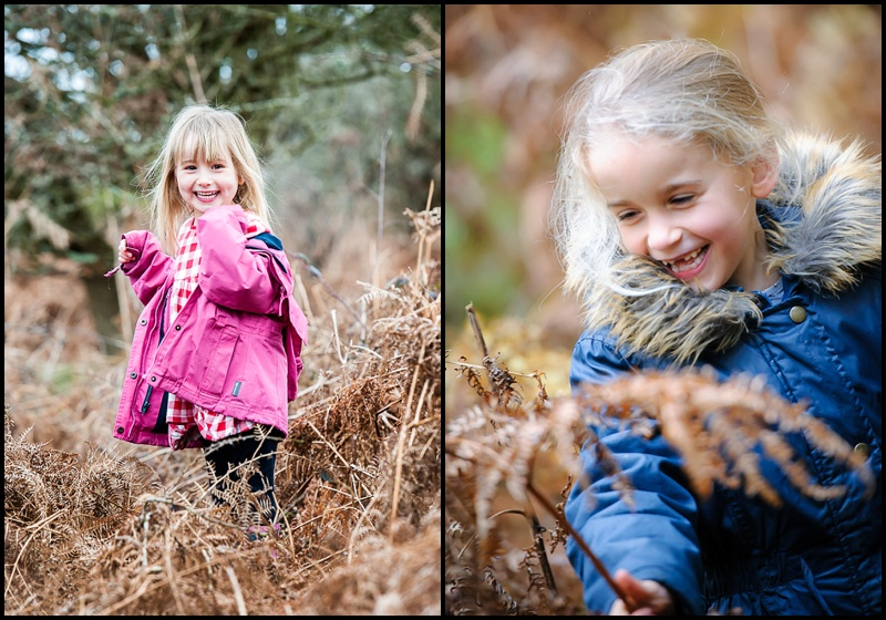 Wear colourful clothes on your winter portrait session